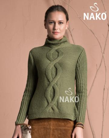 KM-141 Pure Wool Kazak